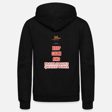 Keep clam t shirt - Unisex Fleece Zip Hoodie
