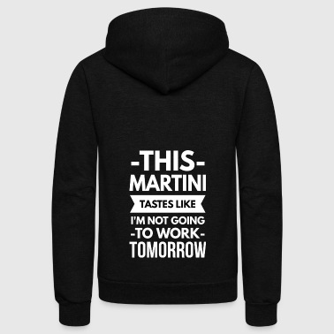 This Martini - Unisex Fleece Zip Hoodie