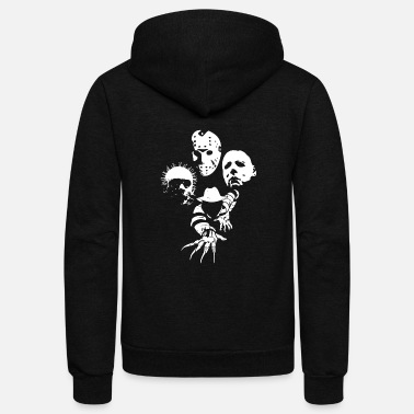 Horror Jason voorhees - Horror Icons - Unisex Fleece Zip Hoodie