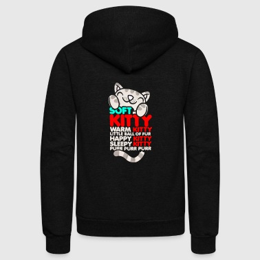 Soft Kitty Warm Kitty - Unisex Fleece Zip Hoodie