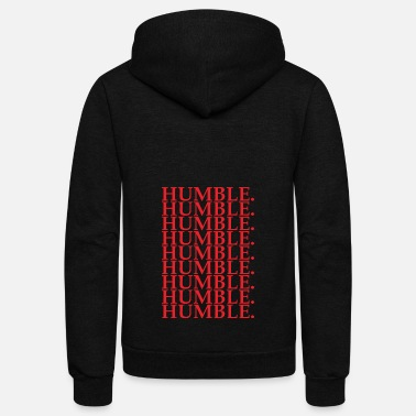 Rapper HUMBLE - Unisex Fleece Zip Hoodie