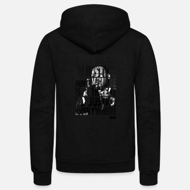 King Martin Luther King - Unisex Fleece Zip Hoodie
