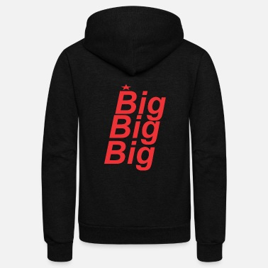 Big Big - Unisex Fleece Zip Hoodie