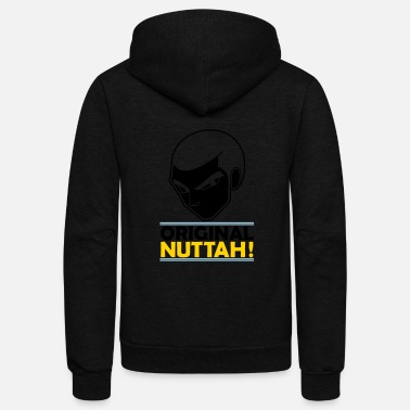 Cartoon Original Nuttah - Cool Cartoon character, Animated - Unisex Fleece Zip Hoodie