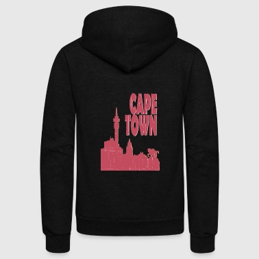 Town Cape town City - Unisex Fleece Zip Hoodie