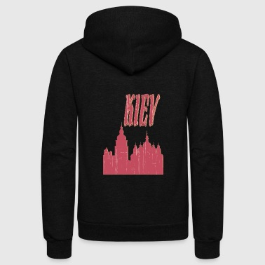 KIEV City - Unisex Fleece Zip Hoodie