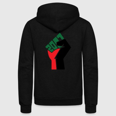 Black Power 2017 - Unisex Fleece Zip Hoodie