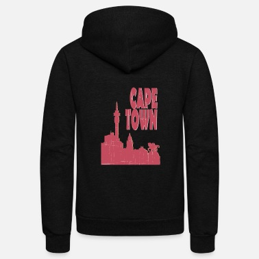 Cape Town Cape town City - Unisex Fleece Zip Hoodie
