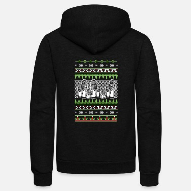 Psytrance Mushroom hunter - Unisex Fleece Zip Hoodie