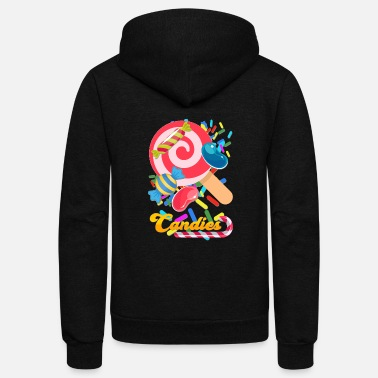 Candy candies - Unisex Fleece Zip Hoodie