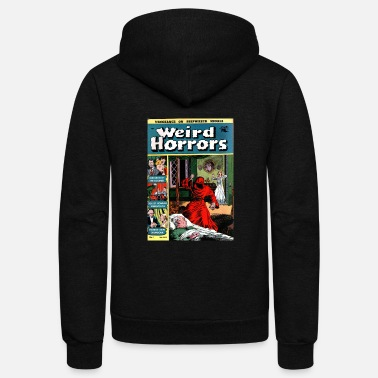 Comic Weird Horrors Comic - Unisex Fleece Zip Hoodie