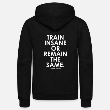 Insane Train Insane - Unisex Fleece Zip Hoodie