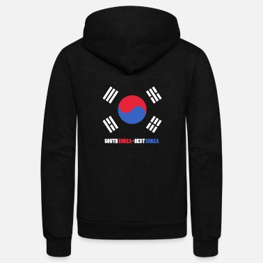 Korea Capital seoul lit modern south korea - Unisex Fleece Zip Hoodie