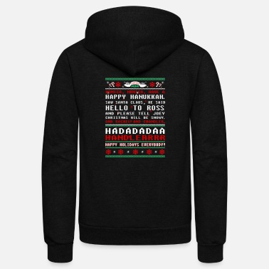 Cold friends christmas sweater - Unisex Fleece Zip Hoodie