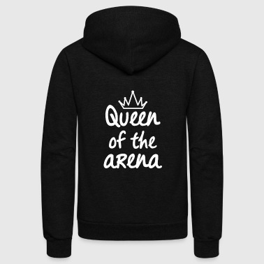 Queen of the Arena - Unisex Fleece Zip Hoodie