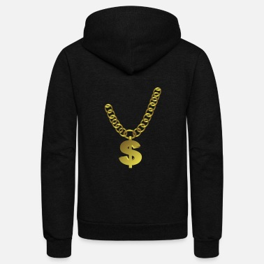 Jewelry Chain Jewelry - Unisex Fleece Zip Hoodie