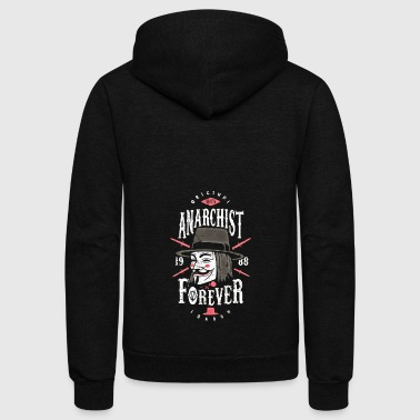 Anarchist anarchist forever - Unisex Fleece Zip Hoodie