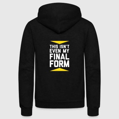 Form FINAL FORM - Unisex Fleece Zip Hoodie