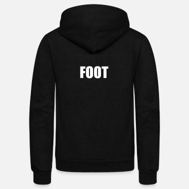 Foot FOOT - Unisex Fleece Zip Hoodie