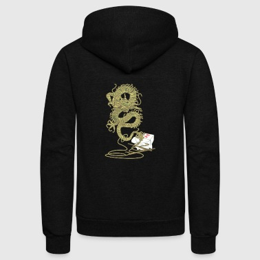 Dragon Flavor - Unisex Fleece Zip Hoodie