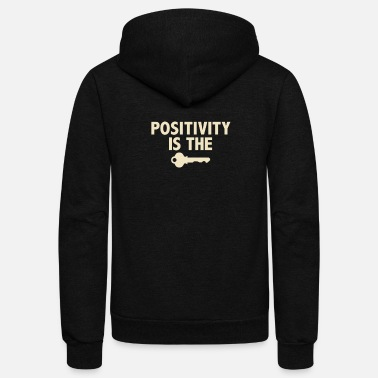 Positivity Positivity - Unisex Fleece Zip Hoodie