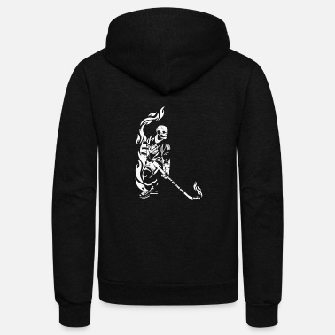 Hockey Cool ice hockey - Unisex Fleece Zip Hoodie