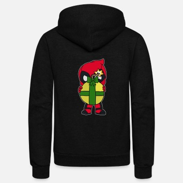Christmas Kick Cyber System - Unisex Fleece Zip Hoodie