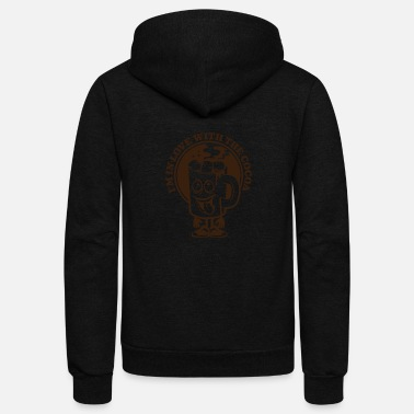 Cocoa The Cocoa Smile - Unisex Fleece Zip Hoodie