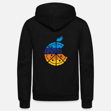 Pizza PIZZA PIZZA - Unisex Fleece Zip Hoodie