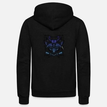 Winter Winter Fox - Unisex Fleece Zip Hoodie