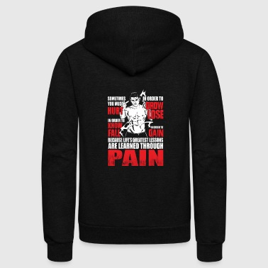 Akatsuki Pain - Greatest lessons are learned through pain - Unisex Fleece Zip Hoodie
