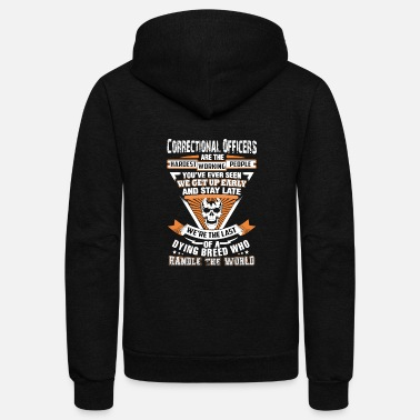 Correctional officers - The last of a dying bree - Unisex Fleece Zip Hoodie