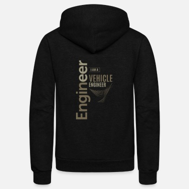 Vehicle Vehicle Engineer - Unisex Fleece Zip Hoodie