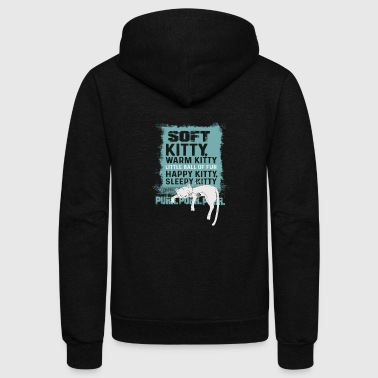 Soft Kitty - Unisex Fleece Zip Hoodie