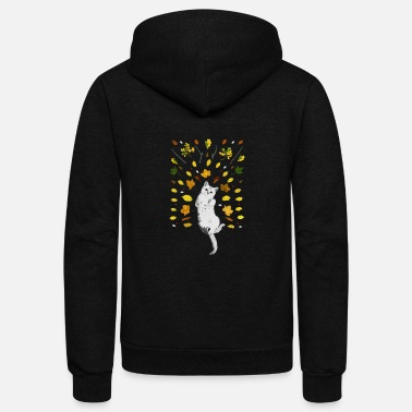 Lapsi cat fall - Unisex Fleece Zip Hoodie