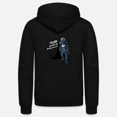 Darth Dapper Darth - Unisex Fleece Zip Hoodie