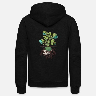 Plant Grounds Bulba Plant - Unisex Fleece Zip Hoodie