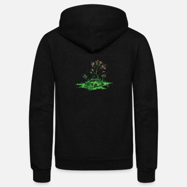 Eco Eco Friendly - Unisex Fleece Zip Hoodie
