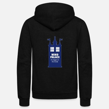 Dr Who When Fandoms Collide: Mind Tardis - Unisex Fleece Zip Hoodie