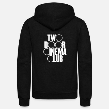 Cinema Two Door Cinema Club - Unisex Fleece Zip Hoodie