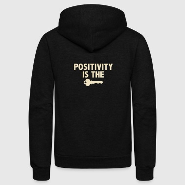 Positivity - Unisex Fleece Zip Hoodie