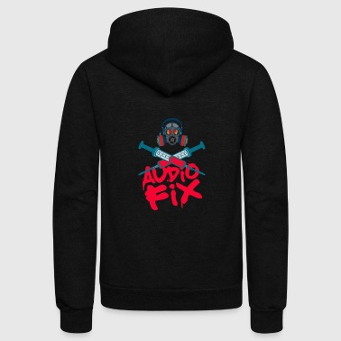 Audio fix - Unisex Fleece Zip Hoodie