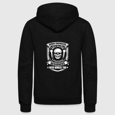 Audio Engineer - Unisex Fleece Zip Hoodie