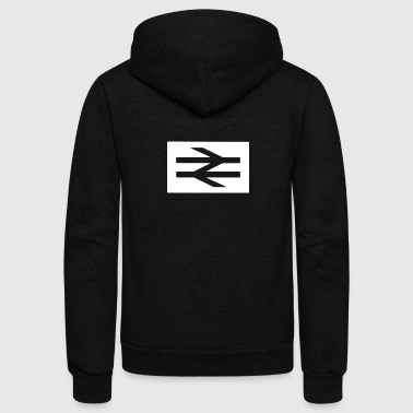 Away Day - Unisex Fleece Zip Hoodie
