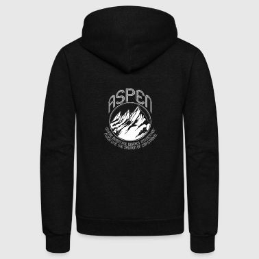 Aspen ASPEN DUMB AND DUMBER FUNNY MOVIE VINTAGE - Unisex Fleece Zip Hoodie