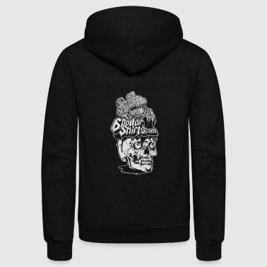 Six On The Brain - Unisex Fleece Zip Hoodie