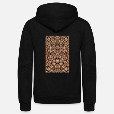 Baroque Boho Chic - Unisex Fleece Zip Hoodie