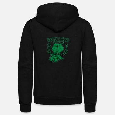 Large Large Marge - Unisex Fleece Zip Hoodie