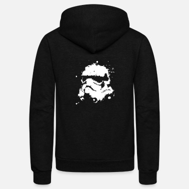 Ink Ink Blast Stromtrooper Star wars - Unisex Fleece Zip Hoodie