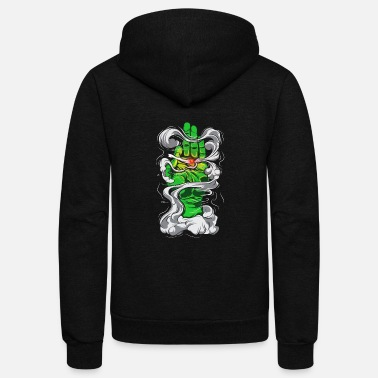 Smoking Smoking - Unisex Fleece Zip Hoodie